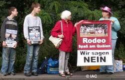 Kölner Rodeo Protest